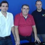 Fabio Figara, Sergio Di Ninno, Dario Ghiselli ( foto gianpi)