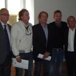 Maurizio Bettini, Riccardo Rossato, Fabio Di Scalzi, Filippo Volandri, Alessio Veroni
