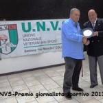 Gianni Picchi ritira il premio ( foto Gianfranco Baldini)