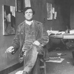 AmedeoModigliani nel suo studio