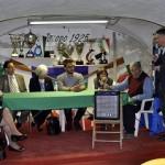 Paolo Contesini parla ai politici ( foto Paolo Bruno)