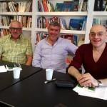Corrado Nastasio, Ermanno Volterrani, Marco Gargini ( foto gianpi)