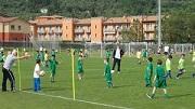 ...giovani calciatori in allenamento