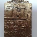 la medaglia per il Palio a firma di Silvano Russo