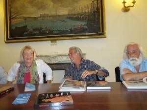 Paola Turio, Pino Pierozzi, Antonio Cristiano ( foto gianpi)