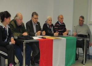 IL tavolo della conferenza ( foto gianpi)