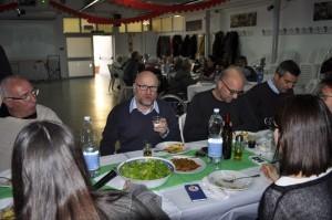 Filippo Nogarin, dopo il...servizio ai tavoli