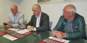 Luca Salvetti, Nicola Perullo, Mario Fracassi ( foto gianpi)