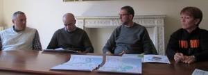 da sx: Bertani, Perullo, Giaconi, Sorice ( foto gianpi)