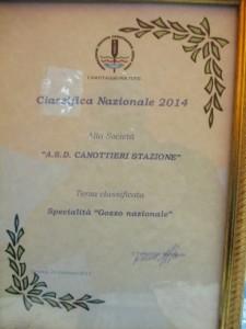 Diploma 3° Sezione Stazione