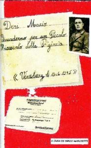 Quaderno di Mario Deri