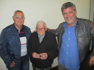 Andrea Vanni, Gianfranco Cara, Ermanno Volterrani ( foto gianpi)
