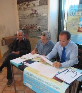 da sx: Malacarne, Cantini, Neri ( foto gianpi)